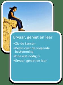 Ervaar, geniet en leer
